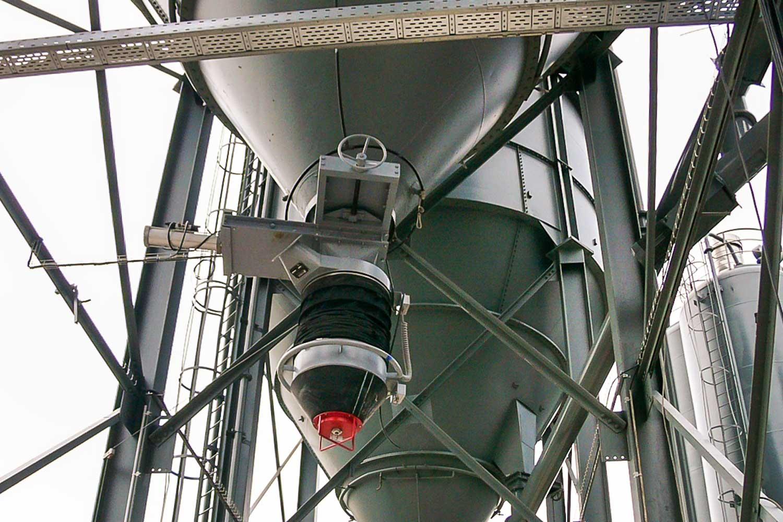 Russig Fördertechnik Beckum Deutschland. Maschinenfabrik für Becherwerke und Ferladegarnituren.